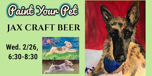 Paint Your Pet at Jax Craft Beer