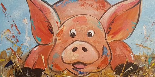 Copy of 'Pig in muck' painting workshop - fun & unwind - for all abilities