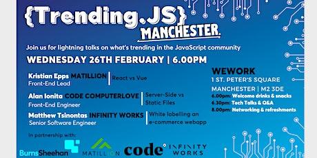 Trending.JS Manchester tickets