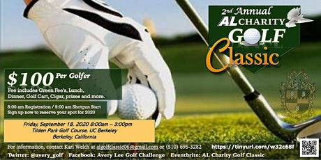 AL Charity Golf Classic tickets
