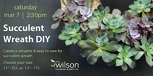 Succulent Wreath DIY Workshop