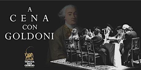 A  cena con Goldoni biglietti