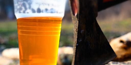 Axe Throwing Happy Hour @ Door 4 Brewing Co.