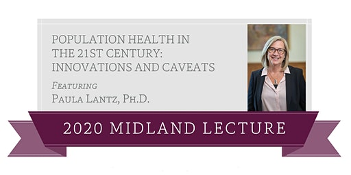 Midland Lecture featuring Paula Lantz