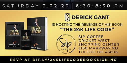 24K Life Book Signing Party
