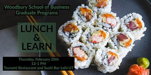 Woodbury School of Business Lunch and Learn - February