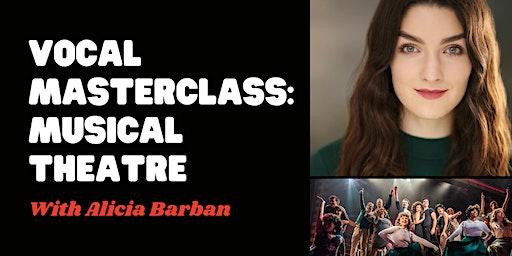 Vocal Masterclass: Musical Theatre
