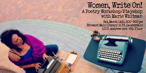Poetry Workshop: Women Write On!