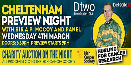 Cheltenham Preview Night tickets