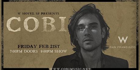 W San Francisco Present: LIVING ROOM LIVE featuring COBI tickets