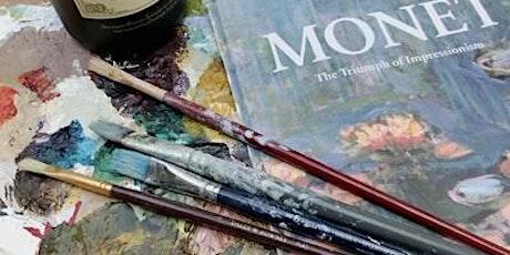 Paint Like Monet - Paint & Wine Evening tickets