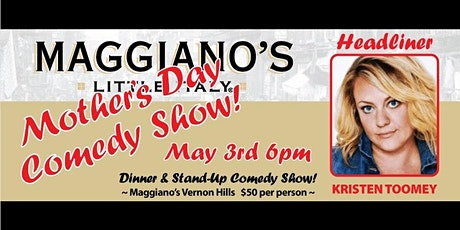 Maggiano's Serves Comedy! tickets