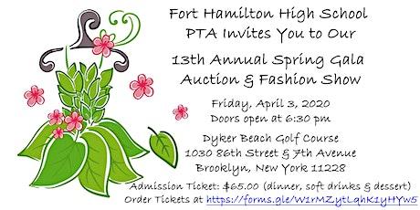 Fort Hamilton High School's 13th Annual Spring Gala Auction & Fashion Show tickets