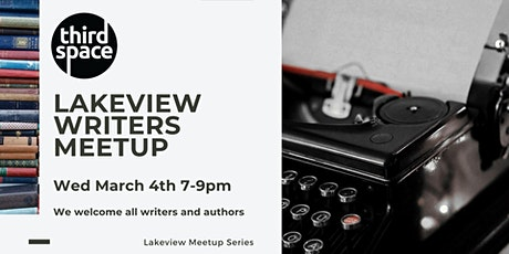 Lakeview Writers Meetup  tickets
