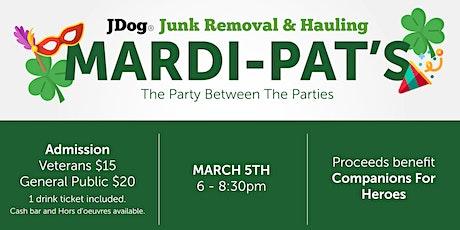 JDog's Mardi-Pat tickets