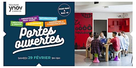 [Toulouse Ynov Campus] Portes Ouvertes - 29 Février 2020 billets