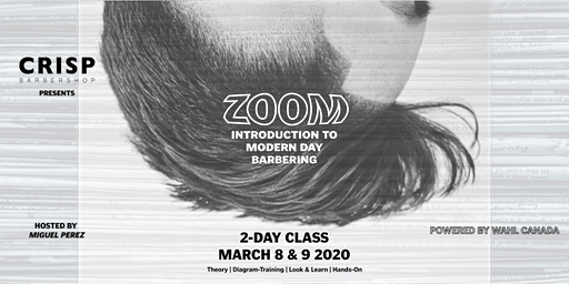 ZOOM - 2 DAY DEVELOPMENT COURSE BY CRISP EDUCATION - MARCH 8 & 9 2020