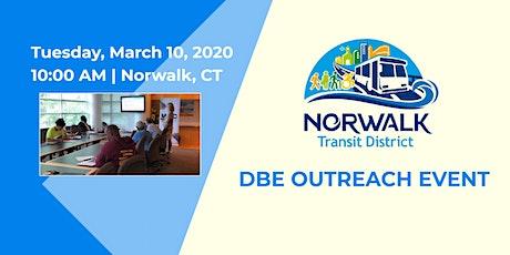 Norwalk Transit District DBE Outreach Event - March 10, 2020 tickets