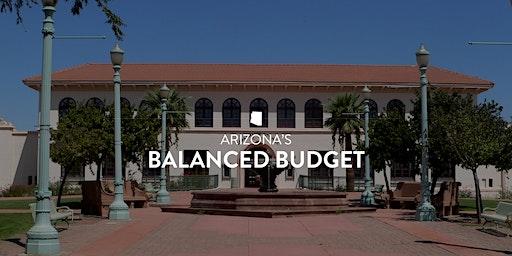 Arizona's Balanced Budget | Governor's Office Public Briefing | Casa Grande