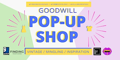 Goodwill Vintage Fashion Pop-up