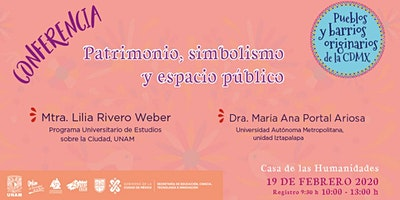Conferencia Patrimonio, simbolismo y espacio público