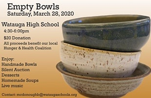 WHS Empty Bowls 2020!