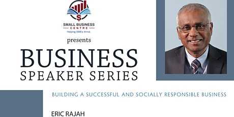Building a Successful and Socially Responsible Business tickets