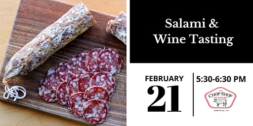 Salami & Wine Tasting