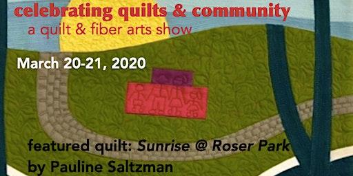 QUILT LOCAL 2020 - a quilt and fiber arts show