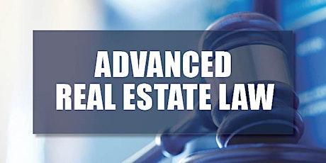CB Bain | Adv Real Estate Law (30 CH-WA) | ETC | July 8th, 10th, 15th & 17th 2020 tickets
