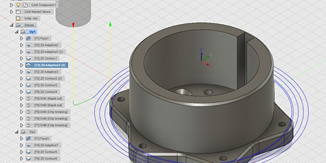 Intro to 3D Design with Fusion 360 tickets