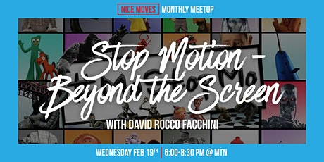 Stop Motion - Beyond the Screen with David Rocco Facchini tickets