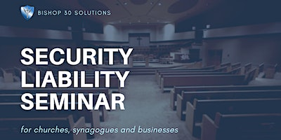 Security Liability Seminar