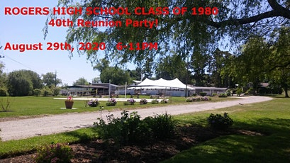 RHS Class of 1980 40th Reunion tickets