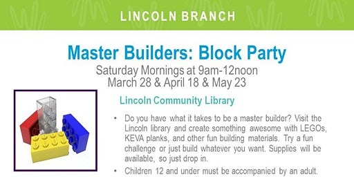 Master Builders Block Party (LIN)