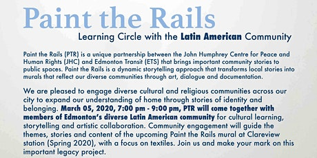Paint the Rails: Latin American Community Session tickets