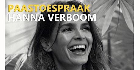 Paastoespraak Hanna Verboom #LiveStream: De kracht van Geven tickets