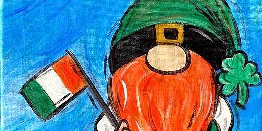 Lucky Gnome-Paint Night
