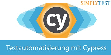 Testautomatisierung mit Cypress in der Praxis - Schulung  Tickets
