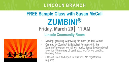 Zumbini Sample Class (LIN)