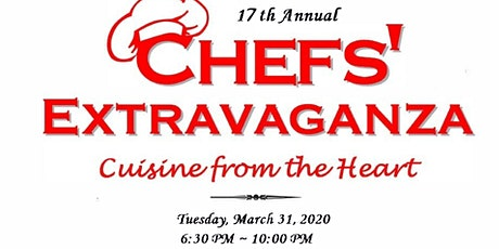 Chefs' Extravaganza 2020 Cuisine from the Heart tickets