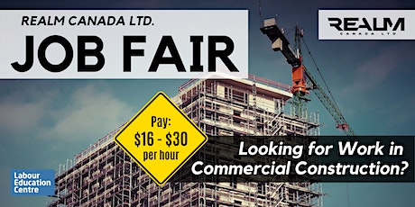 Looking for Work?  Commercial Construction Job Fair - Feb 27th tickets