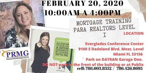 Mortgage Training para Realtors Level I