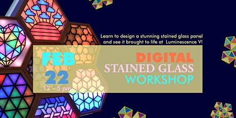 Digital Stained Glass Workshop tickets