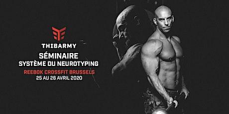 Séminaire - Système Neurotyping - Reebok CrossFit Brussels  billets