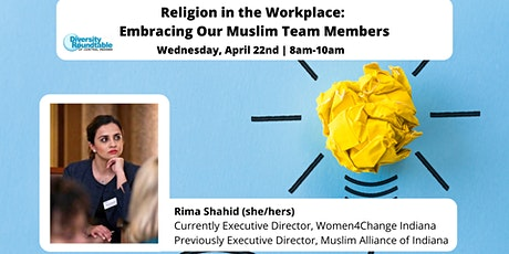 DRTCI Event: Religion in the Workplace: Embracing Our Muslim Team Members tickets
