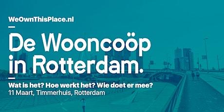 De wooncoöperatie in Rotterdam tickets