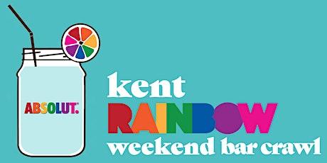 Kent Rainbow Weekend Bar Crawl tickets