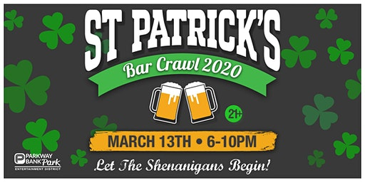 St. Patrick's Day Bar Crawl 2020