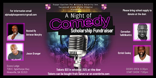 A Night of Comedy Fundraiser Event